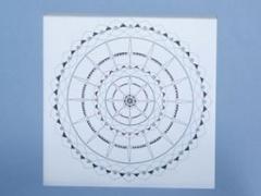 """Eglė Kalibataitė paveikslas iš ciklo """"Mandala"""" paveikslo matmenys 40X 40 cm.  Paveikslo kaina 80 Eur."""