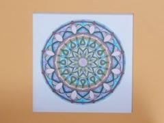 """Eglė Kalibataitė paveikslas iš ciklo """"Mandala"""", paveikslo matmenys 40X40 cm. Paveikslo kaina 95 eur."""