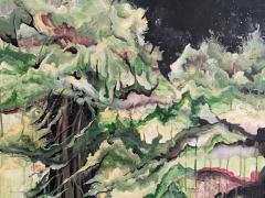 """Margarita Adomavičienė """"Rugpjūtis"""" paveikslo matmenys 70X90 cm. Paveikslo kaina  380 Eur."""