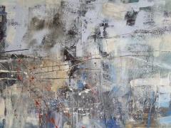 Eglė Karlonaitė paveikslas be pavadinimo paveikslo matmenys 100 X 60 cm.