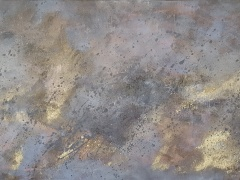 Eglė Karlonaitė paveikslas be pavadinimo paveikslo matmenys 100X 60 cm.
