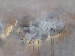 Eglė Karlonaitė paveikslas be pavadinimo paveikslo matmenys 100 X 40 cm.