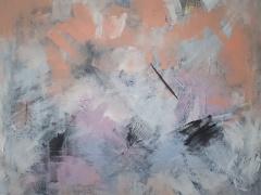 Eglė Karlonaitė paveikslas be pavadinimo paveikslo matmenys 80 X 90 cm.