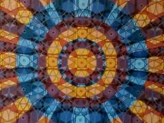 """Sigitas Orantas-Sausis """"Dangaus vitražai"""" paveikslo matmenys 100X50 cm. Paveikslo kaina 880 Eur."""