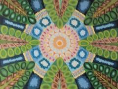 """Sigitas Orantas-Sausis """"Vasaros gaida"""" paveikslo matmenys 50X40 cm. Paveikslo kaina 190 Eur."""