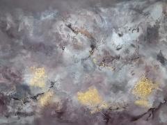 Eglė Karlonaitė paveikslas be pavadinimo paveikslo matmenys 120X 80 cm.