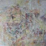 Laima Jonynaitė-Giedraitienė paveikslas ''Minčių ratas